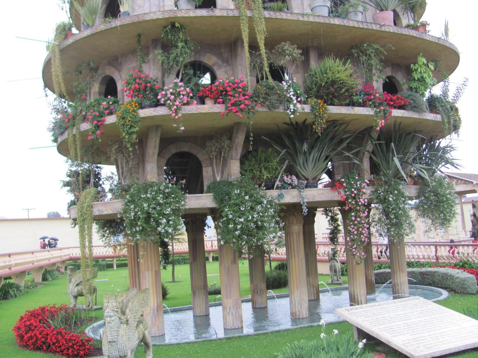 Otra maravilla, los jardines colgantes de babilonia