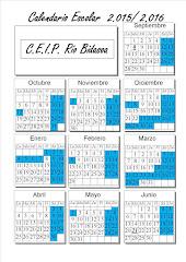 C A L E N D A R I O Escolar 15-16