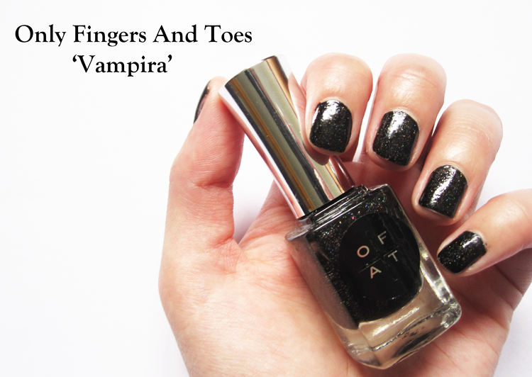 Only Fingers And Toes - Vampira swatches