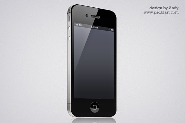iPhone 4 Icon PSD
