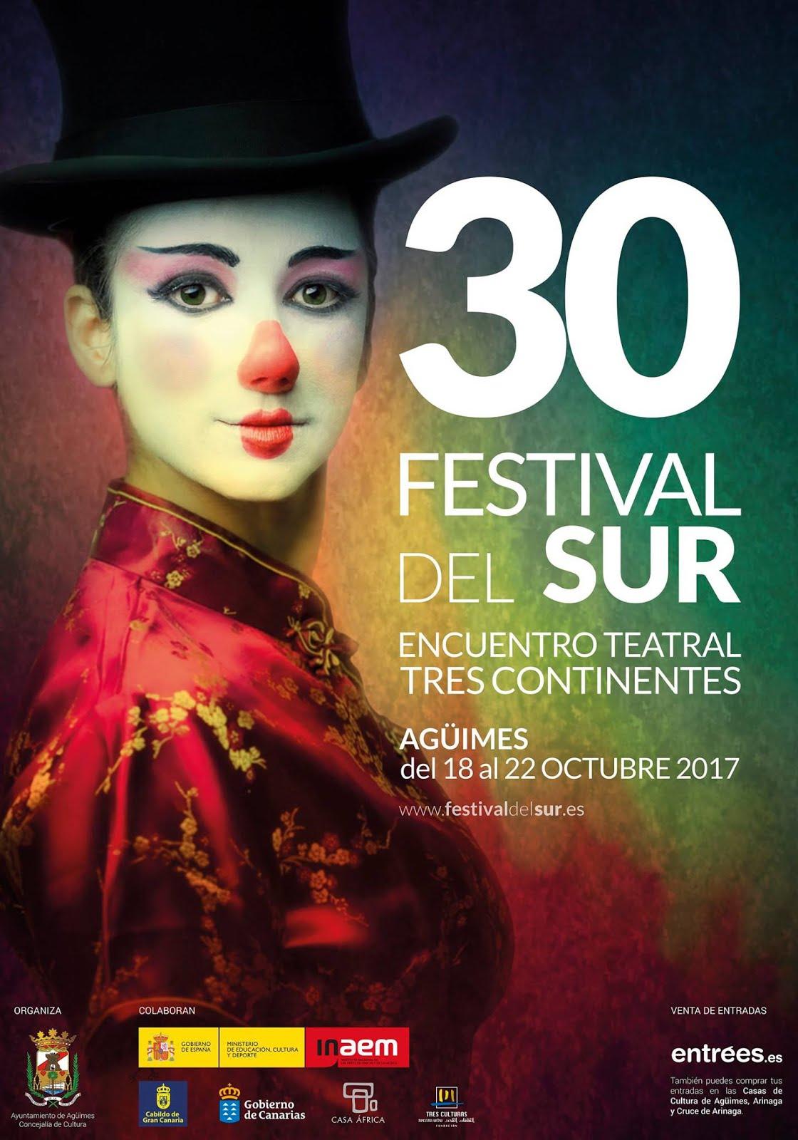 30 Festival del Sur - Encuentro Teatral Tres Continentes