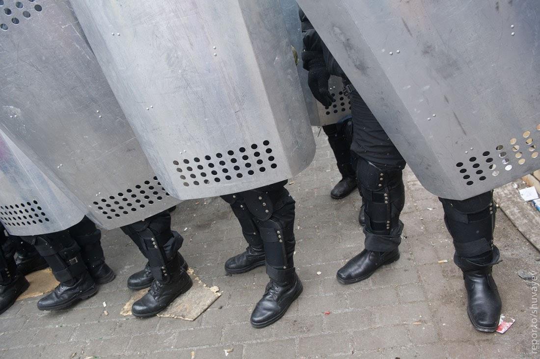 Верховную Раду охраняли бойцы контр-террористического подразделения Сокол