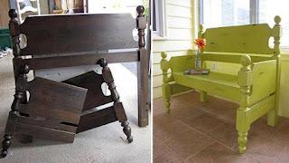Mueble con Cama Reciclada