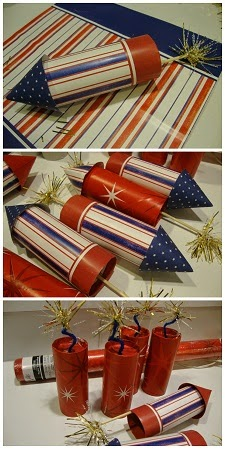 July 4th Rockets, Firecrackers Tutorial