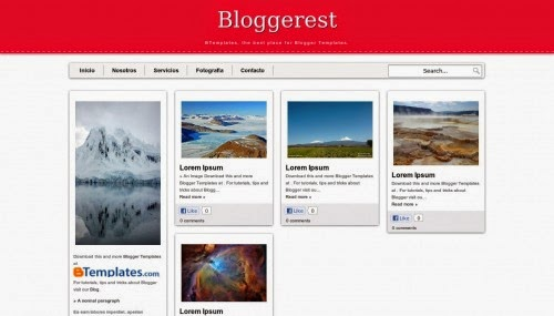 Bloggerest - Free Blogger Template