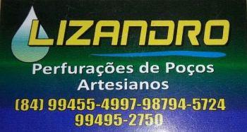 LIZANDRO PERFURAÇÕES DE POÇOS ARTESIANOS