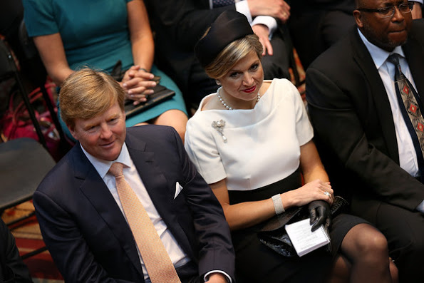 King Willem-Alexander and Queen Maxima visit United States Day 1