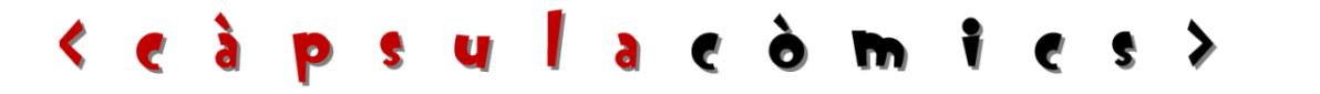 Càpsula Còmics: webcòmic en català