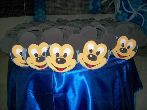 SACOLINHA MICKEY BABY (EM EVA)