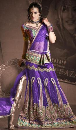 Embroidered-Partywear-Lehnga-Choli