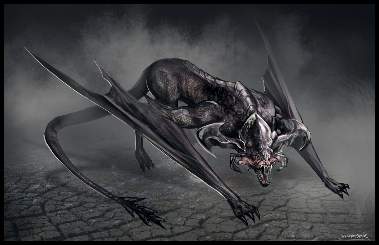 pandora's blog: bat dragon