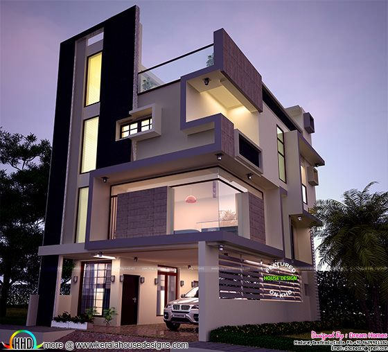 January 2016 kerala home design and floor plans Modern home construction