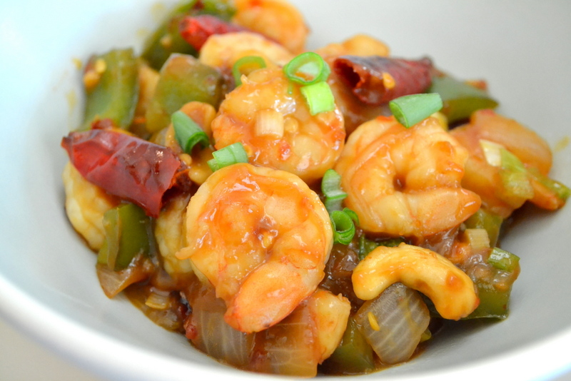 Cookin' Cowgirl: Kung Pao Shrimp with Roasted Cashews