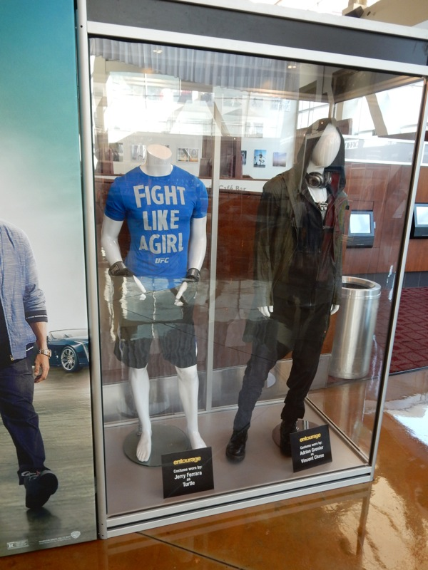 Entourage film costumes