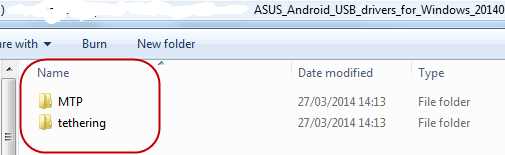 Bagi Windows Win 8 atau 8.1 anda copy folder Android dan paste ke C:\.