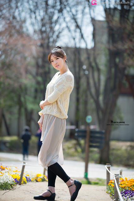 5 Choi Byeol Ha - Outdoor -Very cute asian girl - girlcute4u.blogspot.com