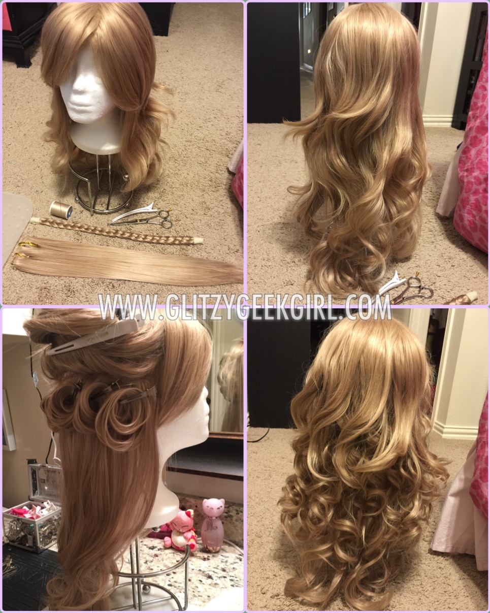 Omglitzy tutorial cinderella 2015 cosplay for cinderellas hair i recommend using ardas ferrari in dark ash blonde normally i would say their ferrari style is perfect as is but mine seemed a baditri Gallery