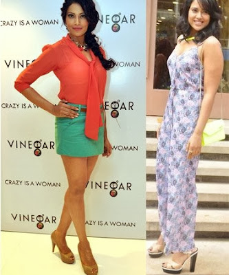 Bipasha and Sameera Reddy High Heels Photos