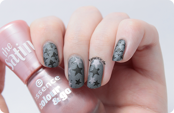 "catrice ""greyhound to knowhere"" + essence ""stamp me!"" + ""dare to kiss"" stamping bornprettystore BP-L006 BP-L007"