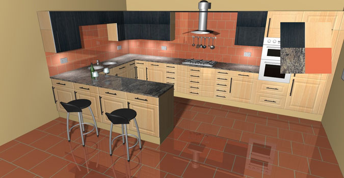 3d movie image 3d kitchen software design Kitcad kitchen design software