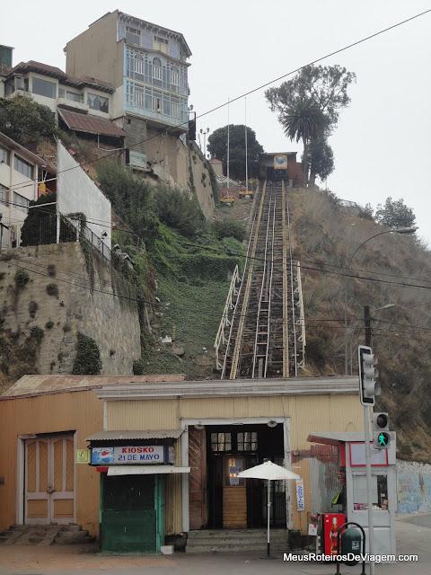 Ascensor Artilleria - Valparaíso
