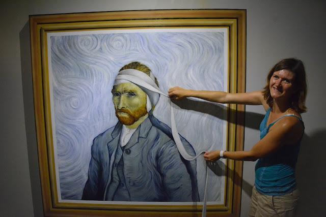 Trick Eye Museum van Gogh