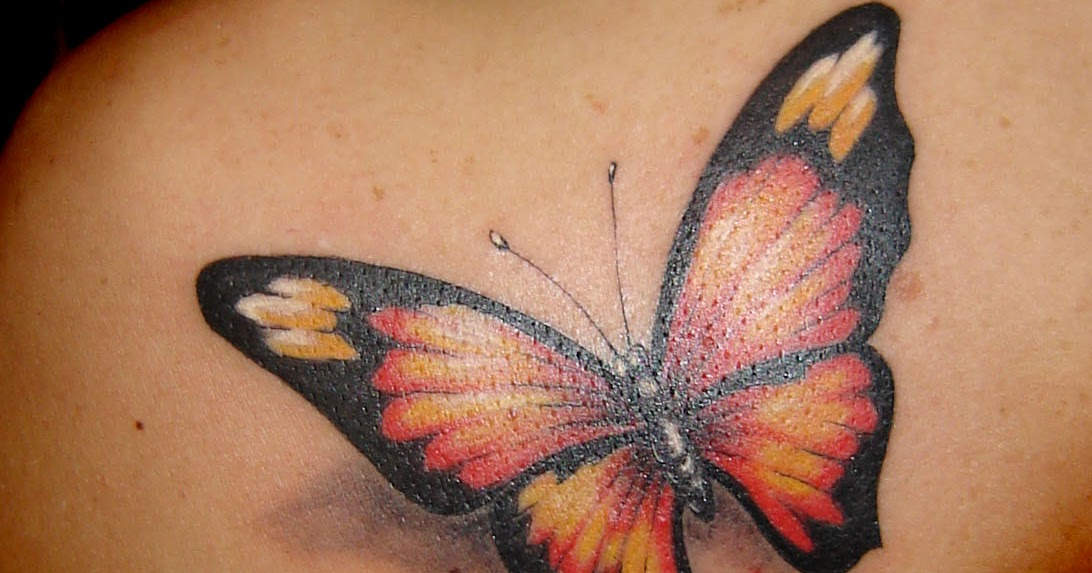 art sci beautiful butterfly tattoo designs. Black Bedroom Furniture Sets. Home Design Ideas