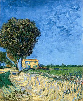 Van Gogh - Allée près d'Arles, 1888