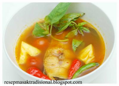 Resep Cara Membuat Pindang Ikan Patin (Palembang).