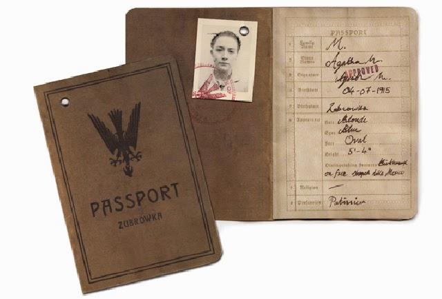 Grand Budapest Hotel Design - Agatha's passport