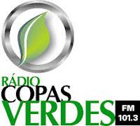 ouvir a Rádio Copas Verdes FM 101,3 Prudentópolis PR
