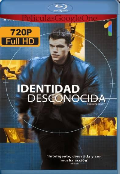 La Identidad De Bourne (2002) BDRip [720p] [Latino]