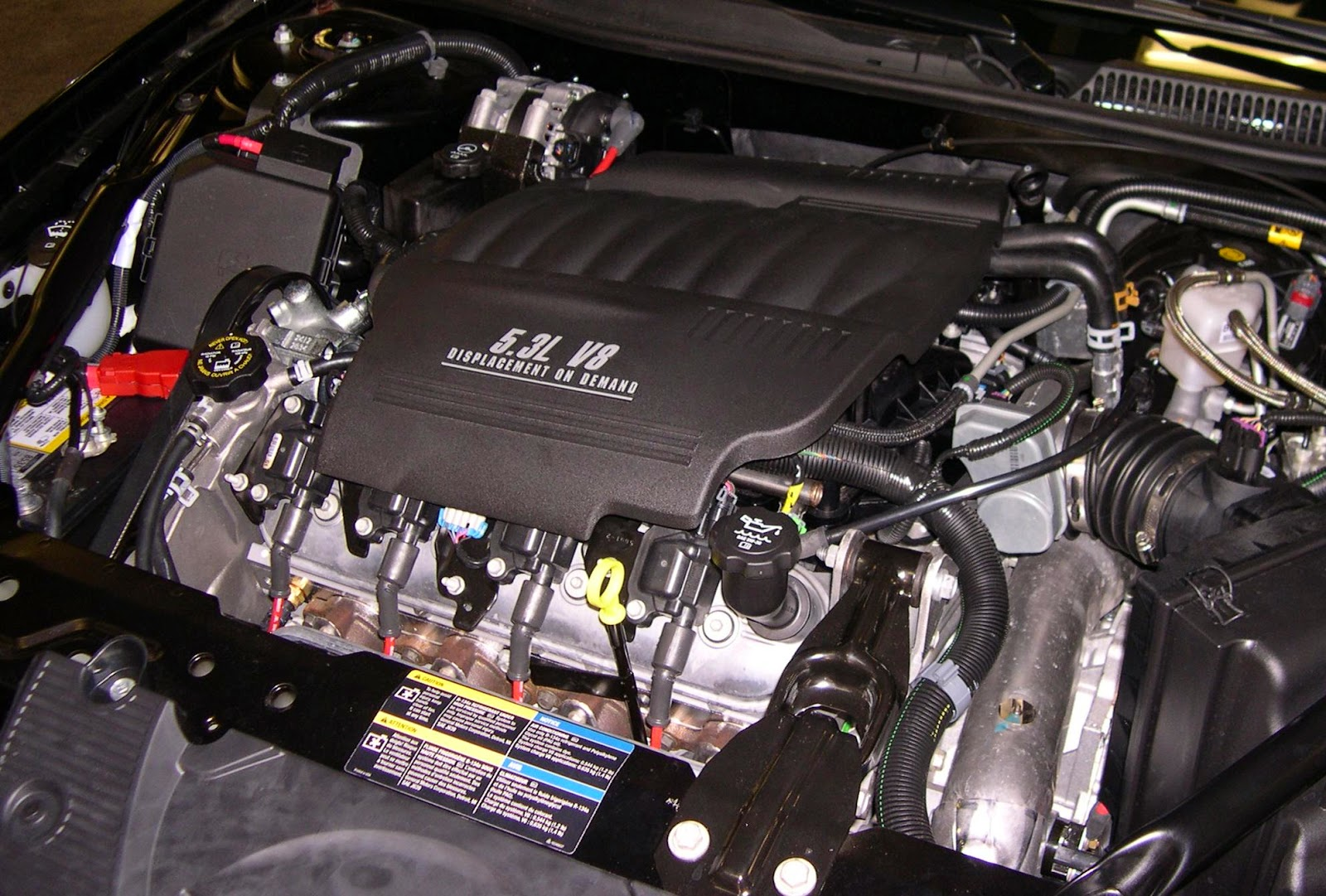 2015 Chevy Monte Carlo Engine