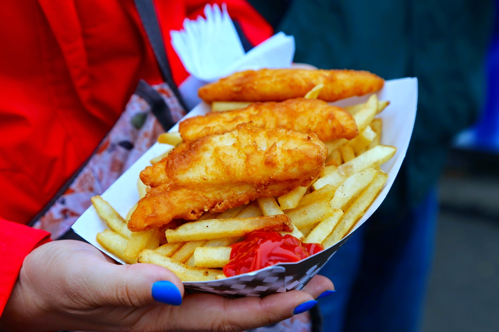 Halibut and chips, Alaska State Fair