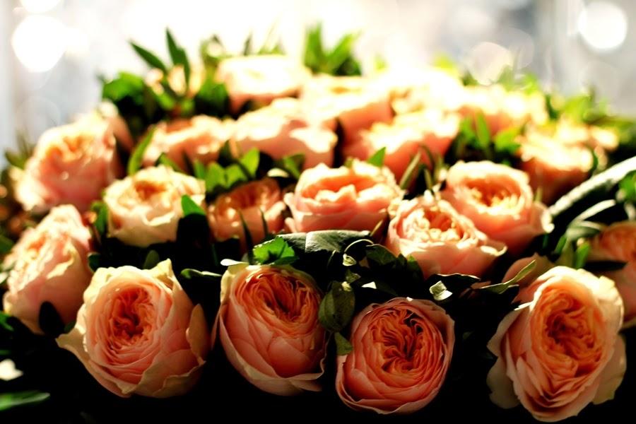 rosen blumen deko