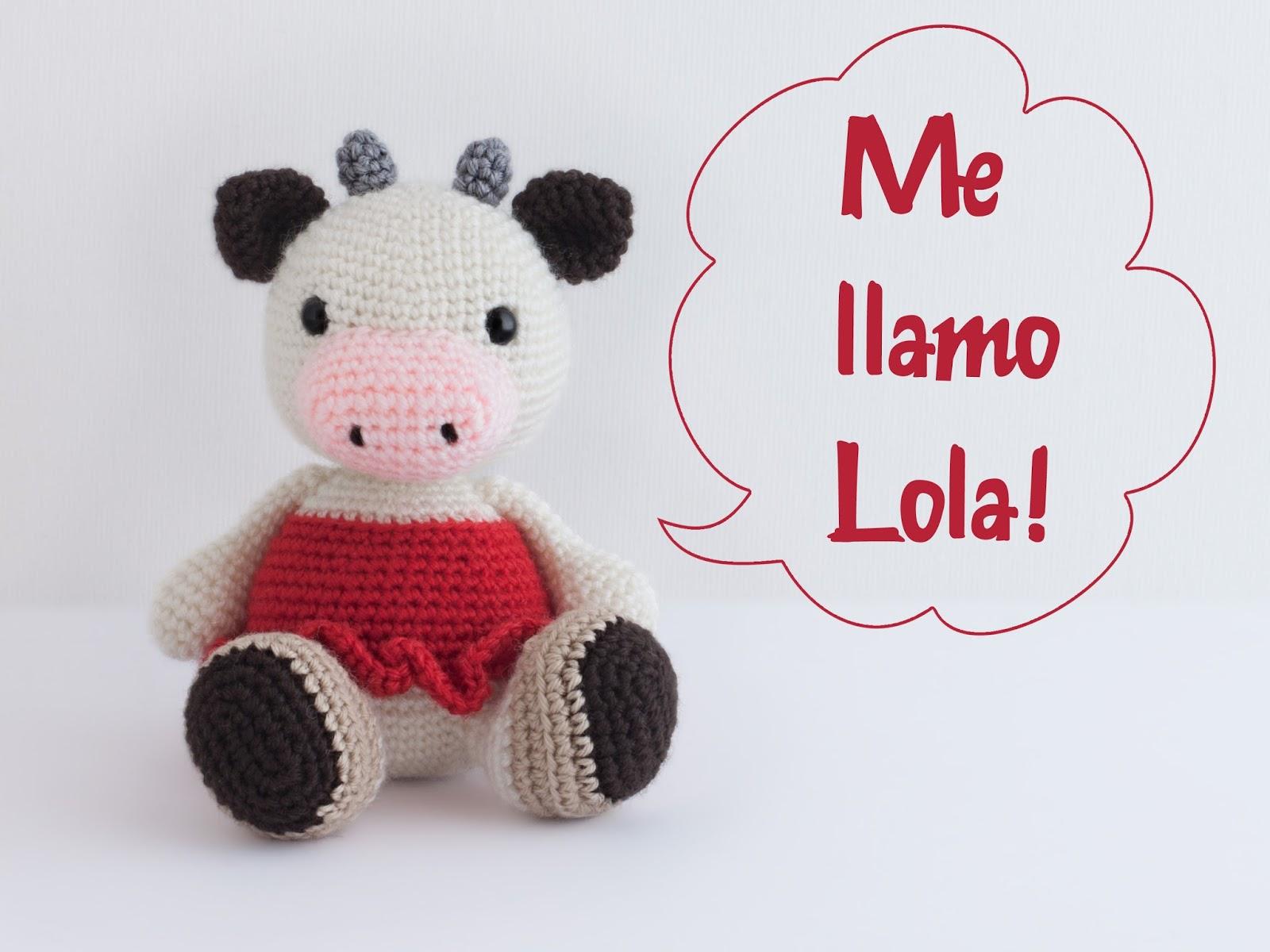 Hacer Vaca Amigurumi : Mis PequiCosas: No me llames Dolores....
