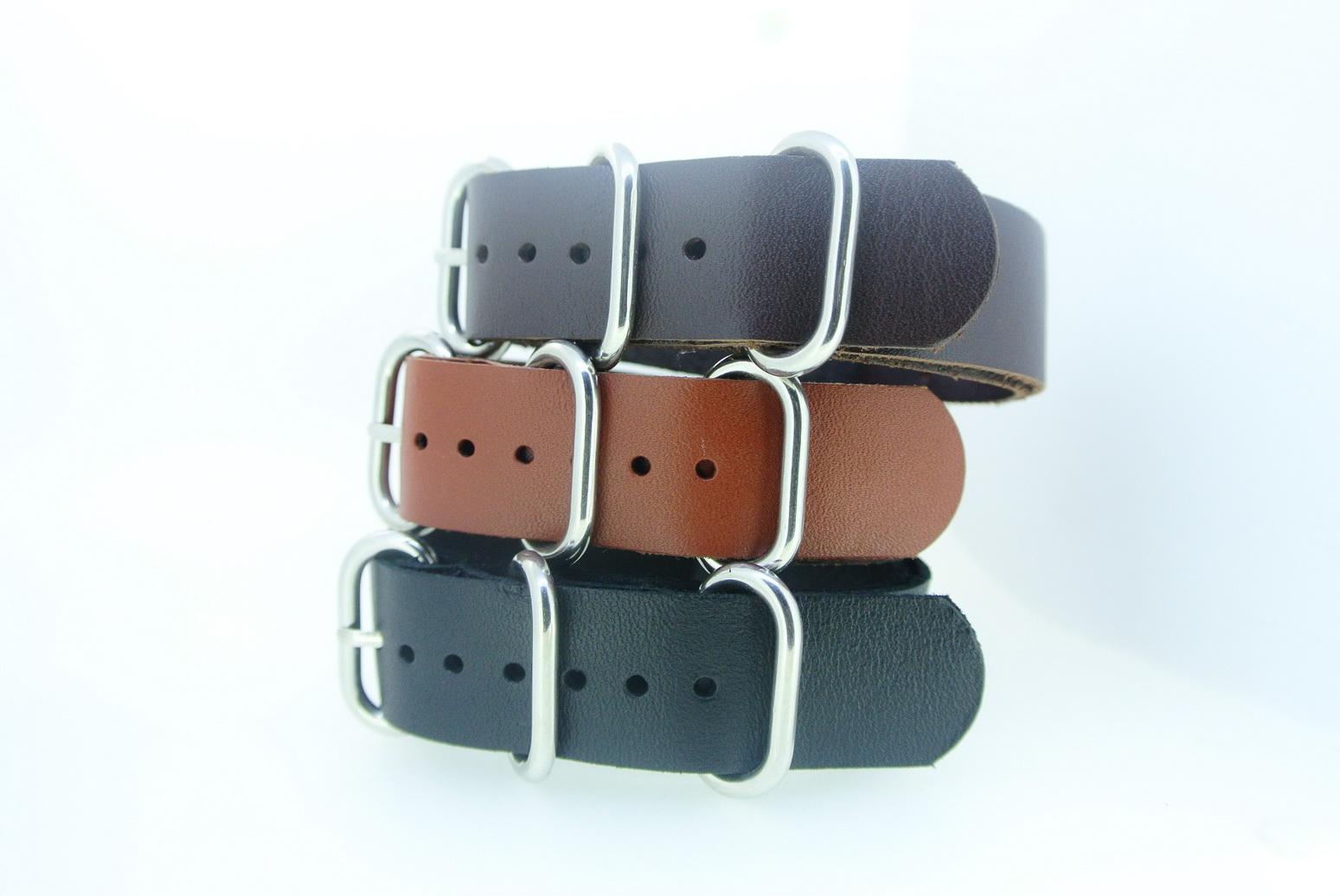 Nato Leather Strap