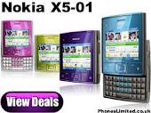 Nokia X5 Rp. 1.000.000.-