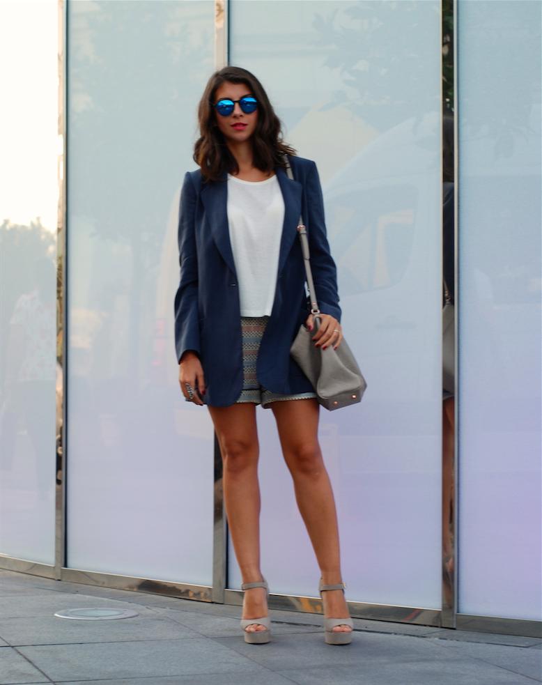 blogger kombini, boyfriend jacket, blazer,marni for h&m short vfno