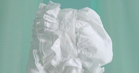 Sew Beautiful Blog A Triple Ruffle Bonnet From Martha S Attic