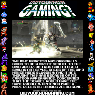 zelda tp ww2 fact Random Game Facts   Zelda Twilight Princess = Wind Waker 2?