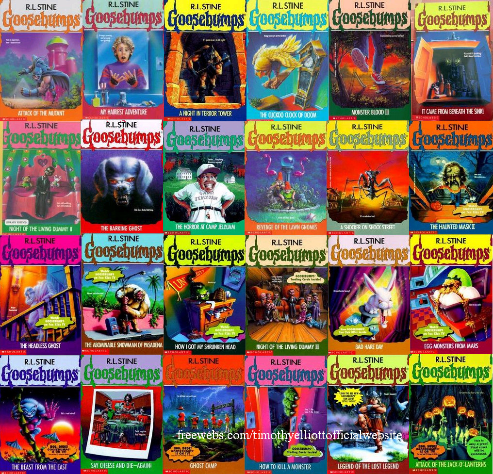 Golden age 4 kids books we loved volume 1 goosebumps for Classic house list 90s