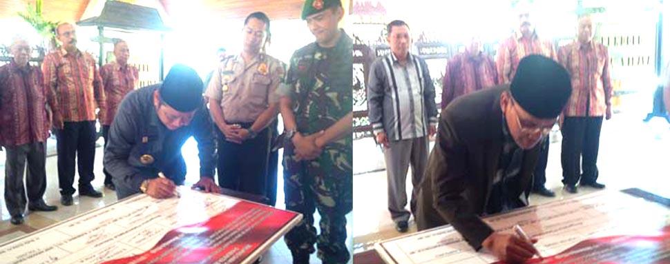 DPD LDII Sidoarjo Dukung Deklarasi Damai Umat Beragama