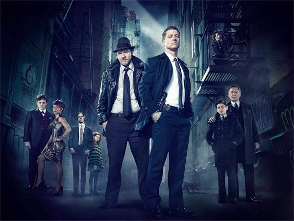 "Poster ""Gotham"" serie de TV"