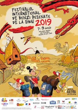 Festivalul Internațional de Benzi Desenate, ed. a VII-a, 7-9 iunie 2019