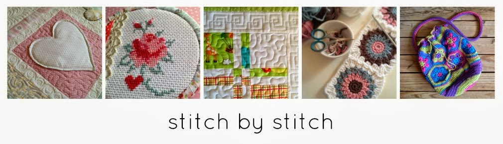 Stitch By Stitch African Flower Crochet Bag Lining Tutorial