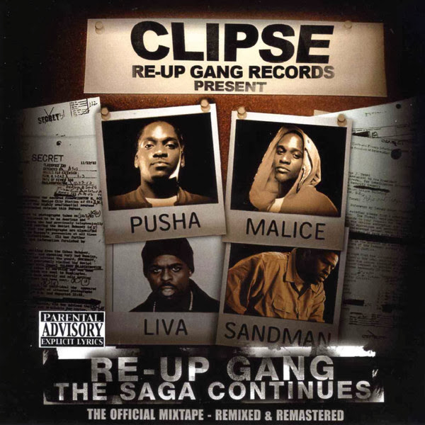 Clipse - Re-Up Gang the Saga Continues Cover