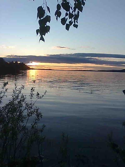 Lake in Lieksa Northern Karelia finland