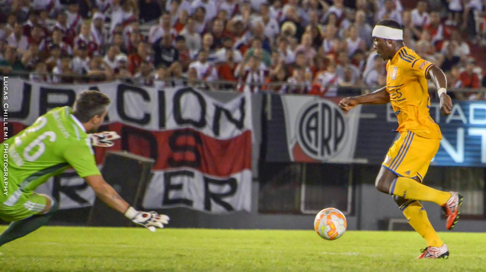 Gerrón, Gerron, Joffre Gerrón, Libertadores, Tigres, River, River Plate, 2015,